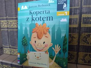 """""""Koperta z kotem"""" Justyna Bednarek - recenzja"""