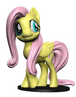My Little Pony WizKids Deep Cut Miniature Fluttershy