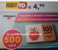 Logo Con Pampers vinci la spesa : in palio 500 card da 100€: scopri l'anticipazione !