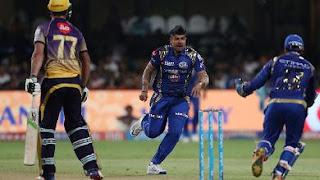 Karn Sharma 4-16 - KKR vs MI Qualifier 2 IPL 2017 Highlights
