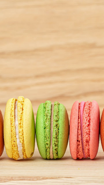 Colorful macarons, cookies, sweets, dessert