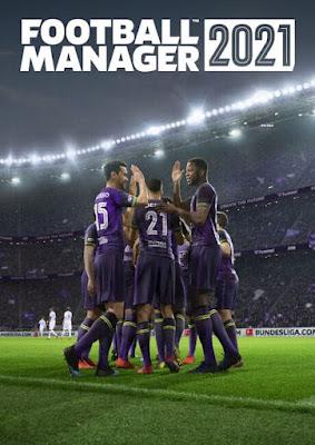 Capa do Football Manager 2021
