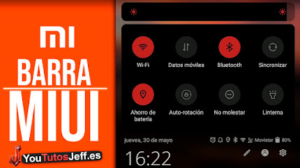 Barra de Notificaciones MIUI en Cualquier Teléfono, Personaliza tu Android