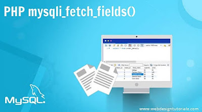 PHP mysqli_fetch_fields() Function