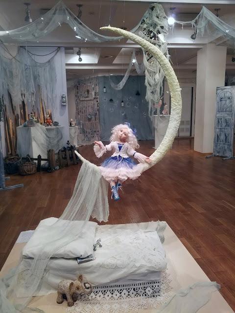 пять историй старого дома, выставка авторской куклы, белоснежная фея Татьяны Малушкиной
