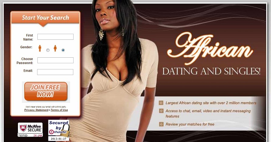 African dating site free