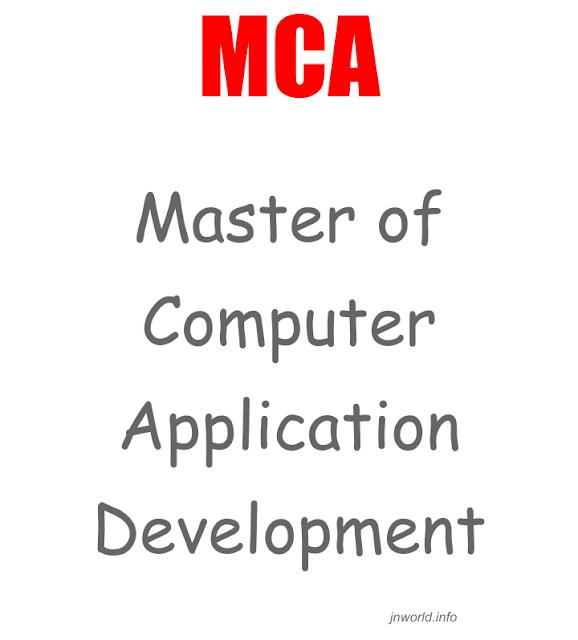 MCA full form