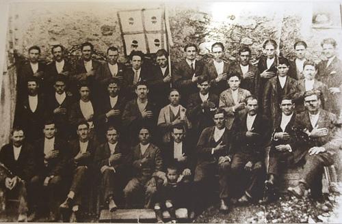 Congrés del Partit Sard d'Acció a Armungia, anys 1920'