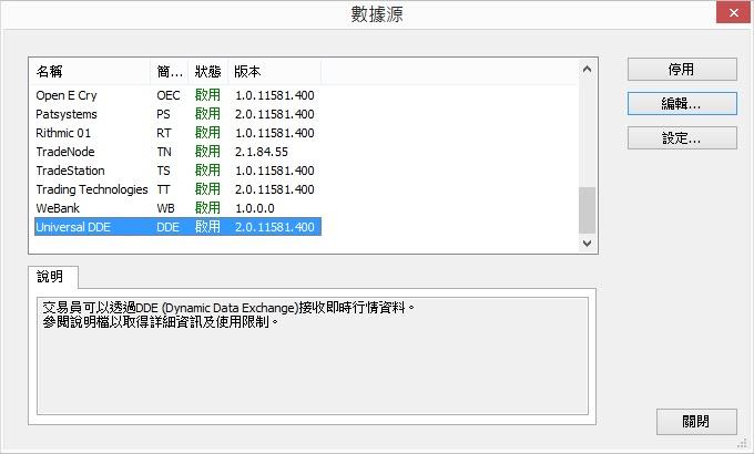 iInfo 資訊交流: MultiCharts串接元大RTD接收報價行情