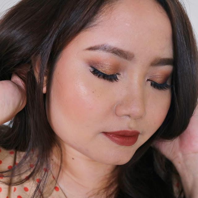 EOTD Neutral Look - Focallure 30 Eyeshadow Palette