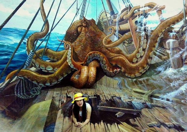 Amazing Art World Bandung Tempat Wisata Selfie Paling Keren