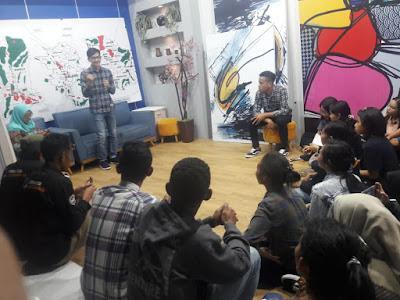 Mahasiswa Himakom Berkunjung ke Arema TV