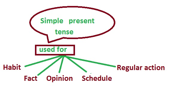 Usage of Simple Present Tense