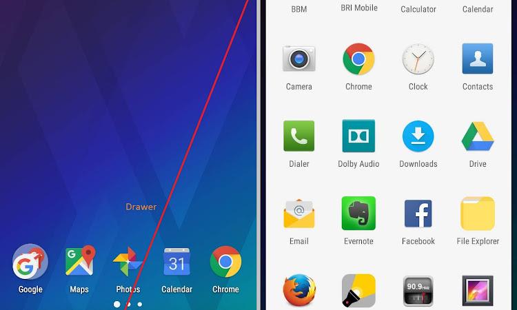 Apa Itu Drawer, Dock, Widget, Status Bar Pada Perangkat Android