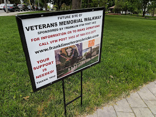Franklin Veterans Walkway Fund Raising Events