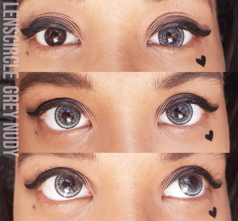 Review: Circle Lens Cinza - Nudy Grey ♡ Lenscircle