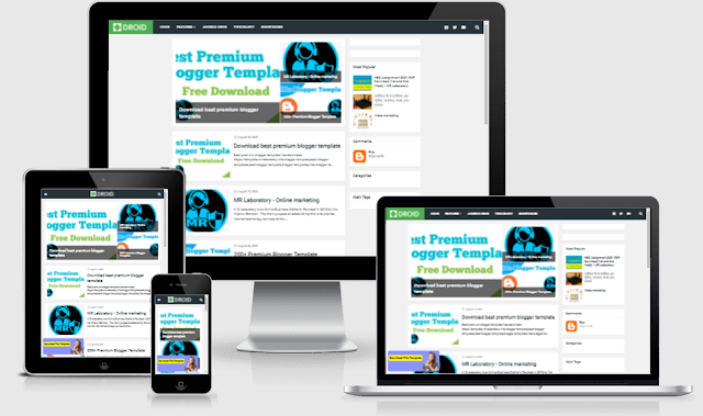 Droid - Responsive Blogger Template