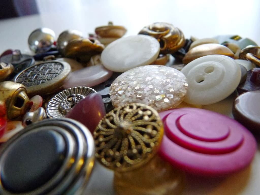 Vintage Estate Buttons