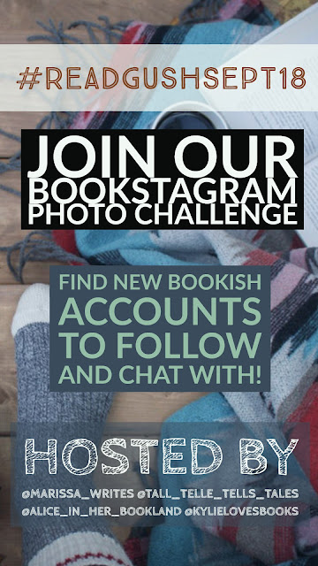 Read Gush September - a Bookstagram challenge for Instagram