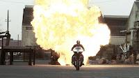 Rider 2 rides on