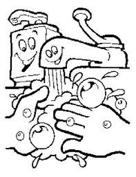 hand hygiene coloring pages | Healthy Eating and Food Safety Tips: Remember Simple Food ...