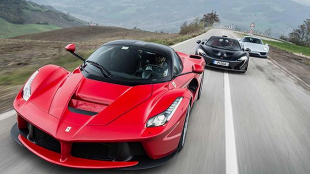 McLaren Vs Ferrari In New Supercar Showdown