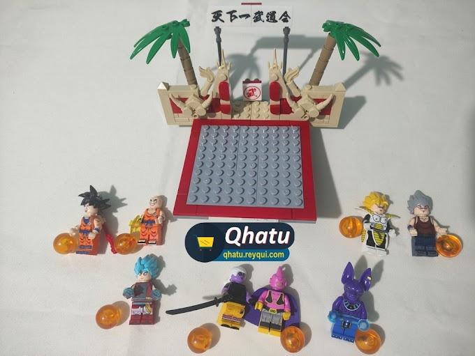 Réplica legos: Combo de figuras de Dragon Ball