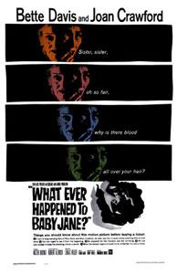 Cartel original de ¿Qué fue de Baby Jane?