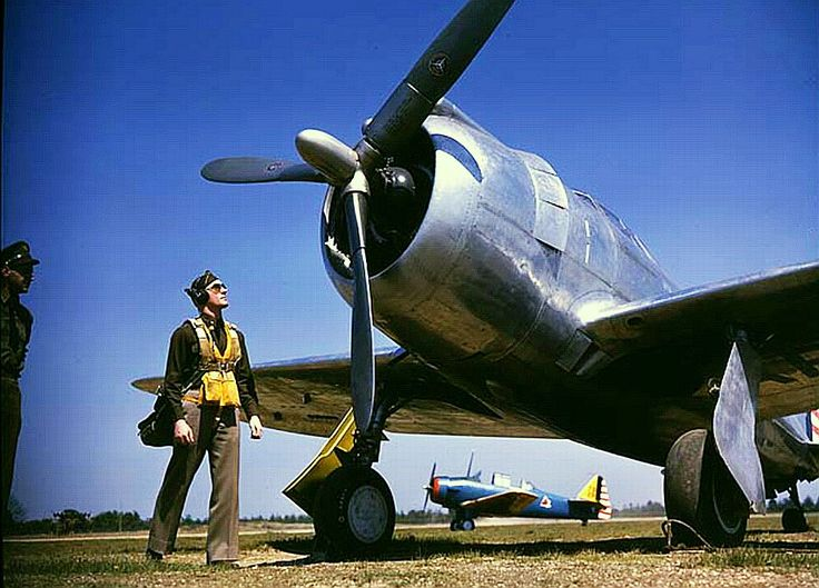 Republic P-43 Color photos World War II worldwartwo.filminspector.com
