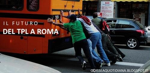 Il crollo della mobilità a Roma