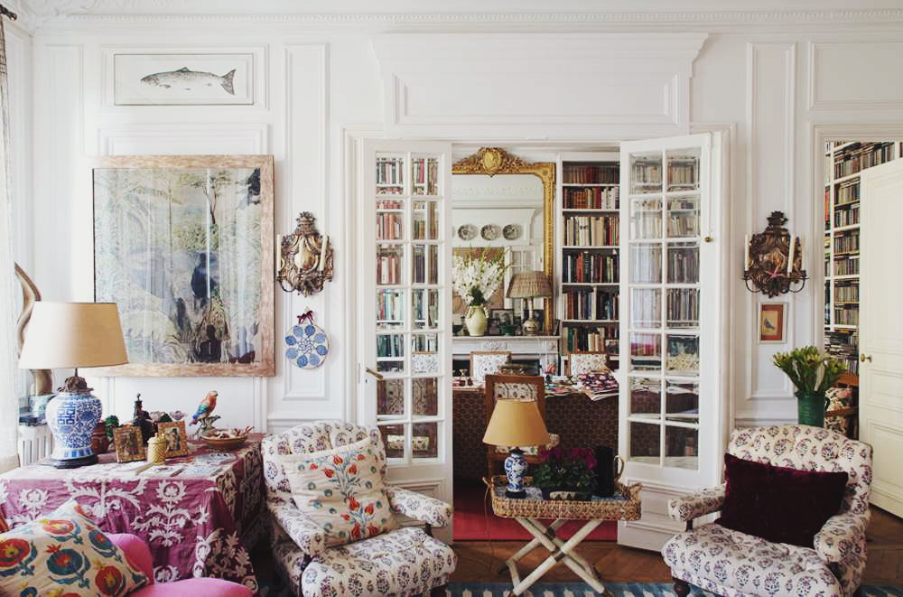 Carolina Irving\'s Paris Apartment • Decor, Art and Life ...