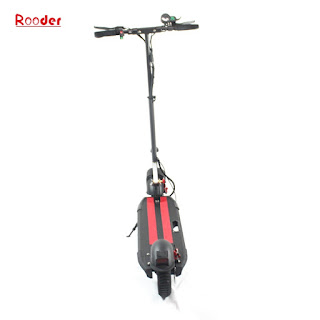 folding electric scooter r803t with 10 inch wheel front rear led light 500W brushless motor 40kmh