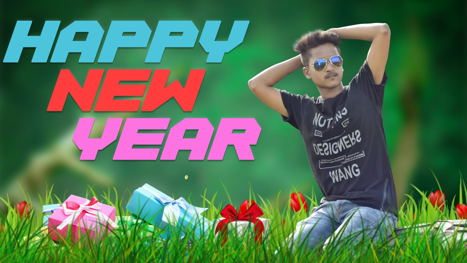 Happy new year 2018 new year special photo edits photoshop happy new year 2018 baditri Gallery