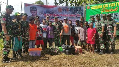 Bantuan Kemanusiaan Suku Mausu Ane Tiba di Pulau Seram