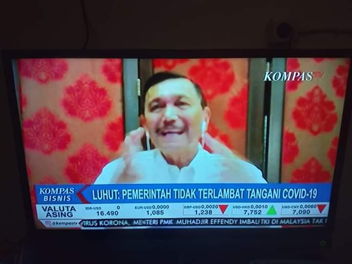 Luhut: Kalau Lockdown yang Kena Kelas Bawah, Jokowi Nggak Mau