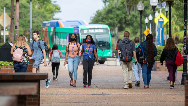 University of Florida campus welcomes students