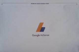tampilan surat pin google dari depan