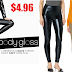 HUE Women's Body Gloss Leggings $4.96 (Retail $58) + Free Shipping With Prime or $25 Order & Free Shipping On Returns. Lowest price they have ever been/you will ever get them!