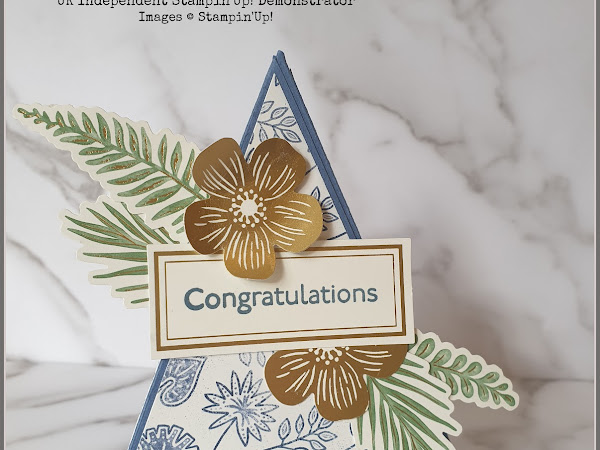 Stampin'Up! Boho Indigo Teepee Card