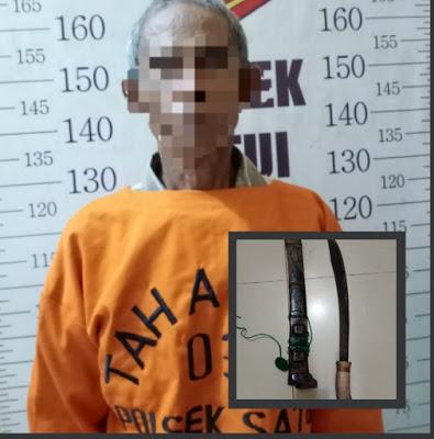 Polsek Satui Berhasil Ungkap Pembunuhan Saipul Warga Jalan Sumpol