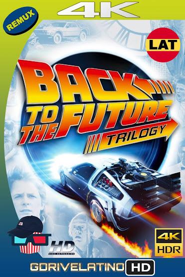 Volver al Futuro (1985-1990) Trilogía BDRemux 4K HDR Latino-Ingles MKV