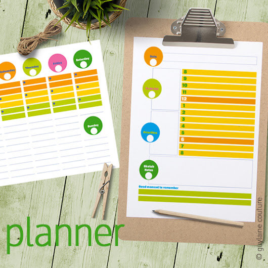 colorful planners         |          pimento press