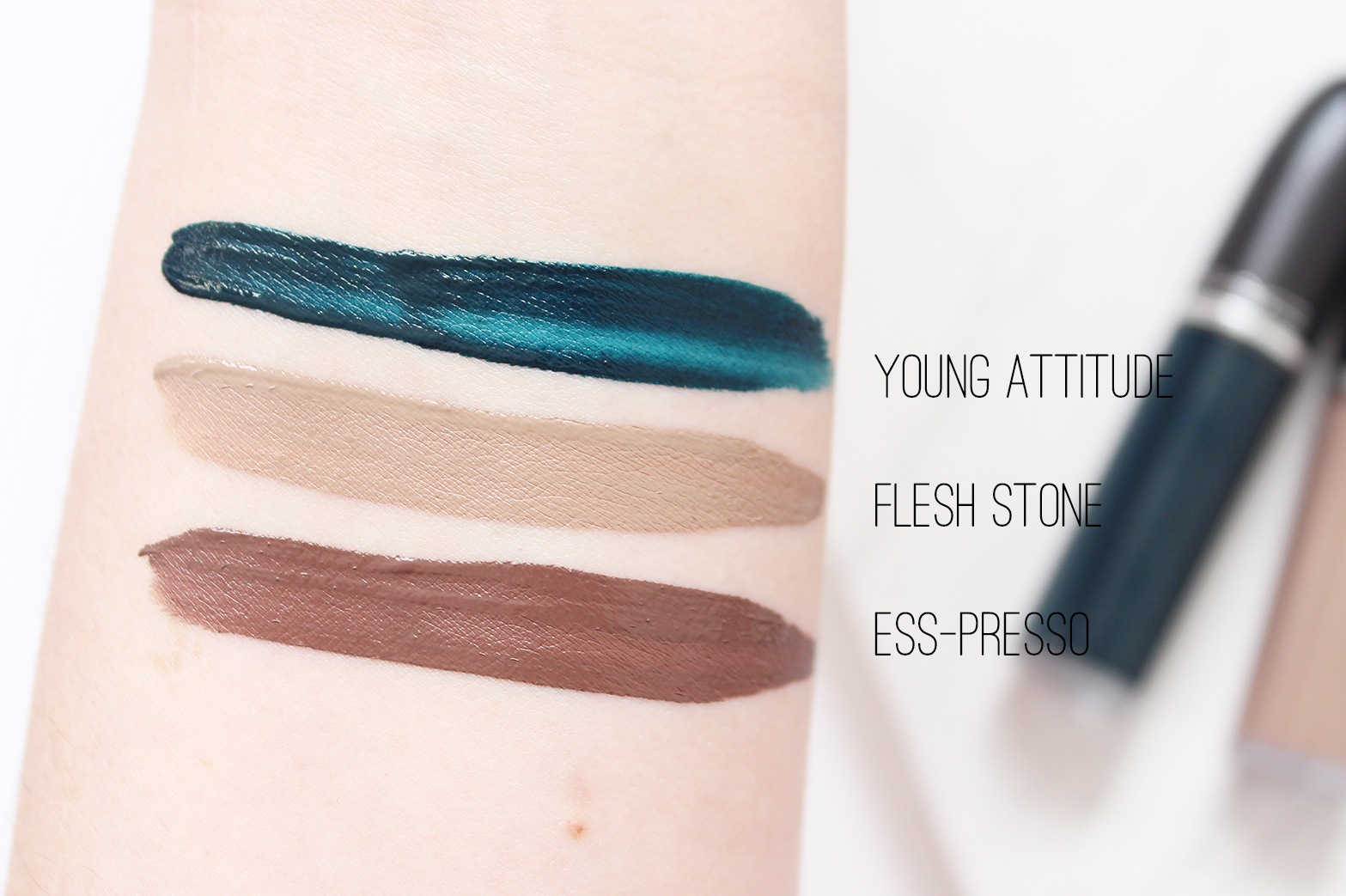 M.A.C COSMETICS | Retro Matte Liquid Lipcolour - Young Attitude, Flesh Stone + Ess-presso - CassandraMyee