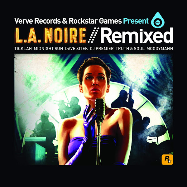Various Artists - Verve Records and Rockstar Games Present LA Noire Remixed - EP Cover