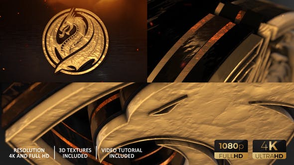 Gold Epic And Power Logo Reveal[Videohive][After Effects][27689975]