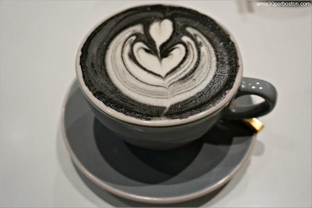 Saltwater Coffee: Charcoal Vanilla Chai