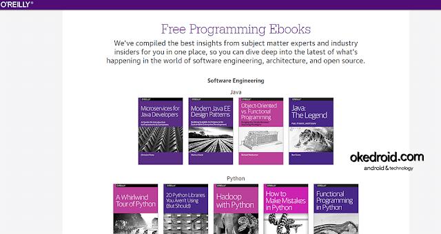 Situs Web Oreilly Free Programming Book Ebook Buku Pemrograman Gratis