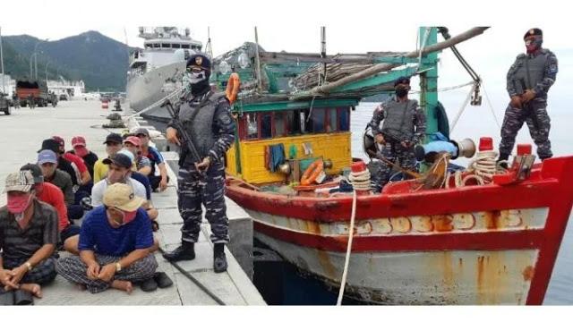 Natuna Tegang, TNI AL Diintimidasi Kapal Patroli Vietnam
