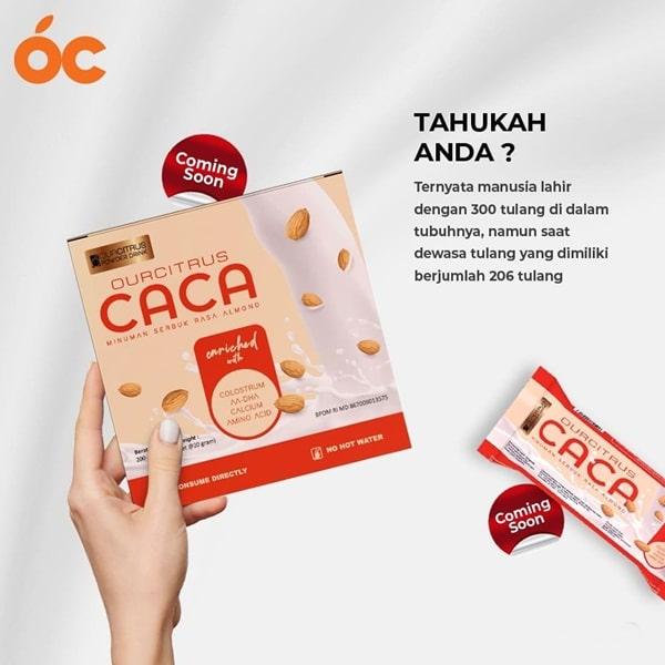 CACA Ourcitrus solusi kalsium