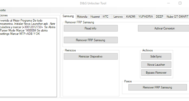 FRP Lock Removal Software Tool Free Download